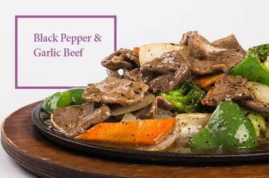 Black Pepper and Garlic Beef